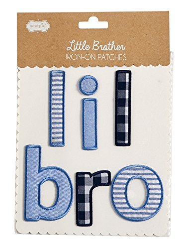 Lil Bro Iron-On Patch (Bros Bros)