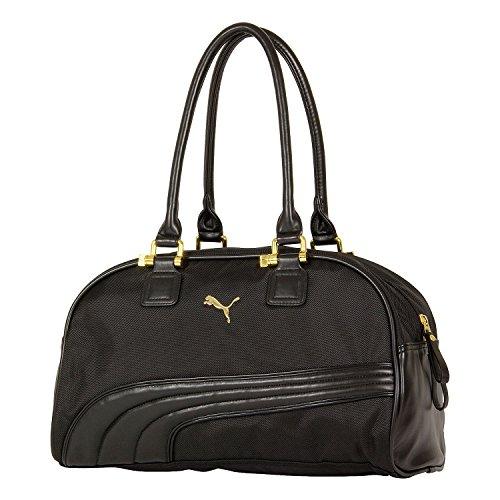 """Puma Adult Cartel Handbag Bag, Black, 16"""" x 10"""" x 8.5"""""""