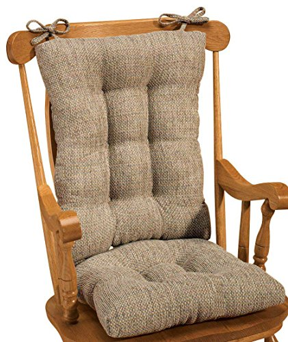 Miles Kimball Tyson Deluxe Beige Rocker Set (Cushions Glider Chair Rocking)