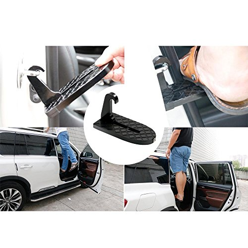 FOONEE Latch Doorstep, Car Doorstep With Safety Hammer Function/Car Folding Ladder for Easy Access to Car Rooftop Doorstep for Car/Jeep/SUV by FOONEE (Image #5)