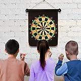 Yuham Magnetic Dart Board Indoor Outdoor Games