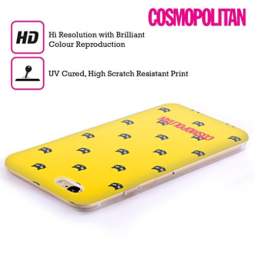 Official Cosmopolitan Yellow Lovey The Cat Soft Gel Case for Apple iPhone 6 Plus / 6s Plus