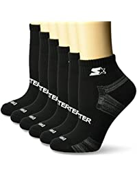Women's 6-Pack Quarter-Length Athletic Socks, Amazon Exclusive
