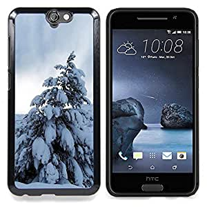 "For HTC One A9 , S-type Naturaleza Hermosa Forrest Verde 196"" - Arte & diseño plástico duro Fundas Cover Cubre Hard Case Cover"