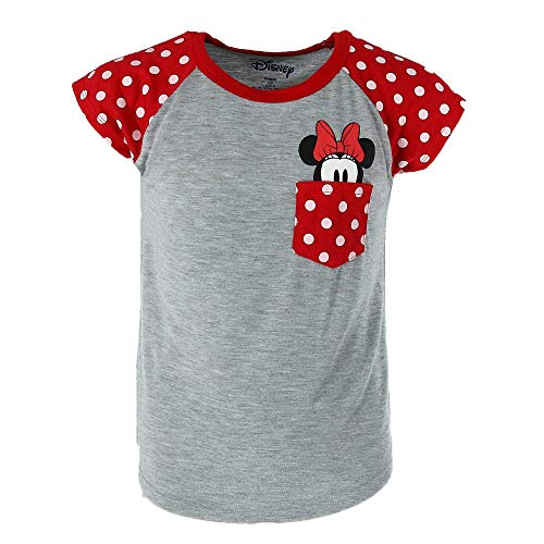 Disney Clothes For Children - Disney Youth Girls Minnie Peeking Pocket
