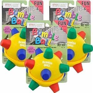 Pet Supplies : Pet Toy Balls : Otis and Claude Bumble Ball