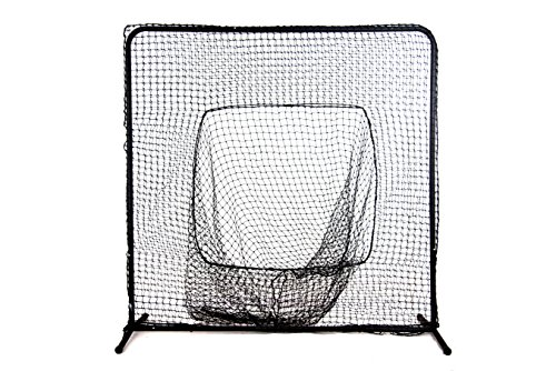 Ascent Sports Baseball Sock Net Screen - Batting Practice Screen – Pitcher Protection – Baseball Ball Catcher Net ()