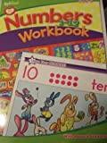 Apple Seed Workbook with Reward Stickers ~ Numbers 1-12