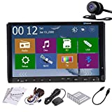 "Auto Radio Car Stereo 2 Din Headunit GPS Navigation Analog TV DVD CD Player 7"" TouchScreen Bluetooth iPod FM AM Audio USB SD Reversing Camera"