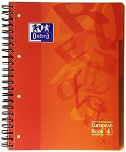 Oxford 754006 - Cuaderno de polipropileno A4, 120 hojas