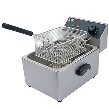 Zyco Electric Deep Fat Fryer 4L, Stainless Steel