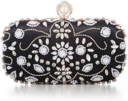 ハンドバッグ - ヨーロッパやアメリカの手ビーズのイブニングバッグ、イブニングバッグ、ハイエンドのハンドバッグ、ブライダルバッグ、財布、チェーン斜めのショルダーバッグ よくできた