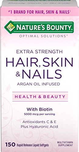 - Nature's Bounty Optimal Solutions Hair, Skin & Nails Extra Strength, 150 Softgels