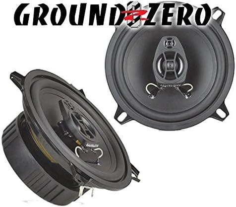 JUST SOUND best choice for caraudio Ground Zero GZIF52X Einbauset f/ür Renault Twingo 2 Front Heck 13cm Lautsprecher Koaxe