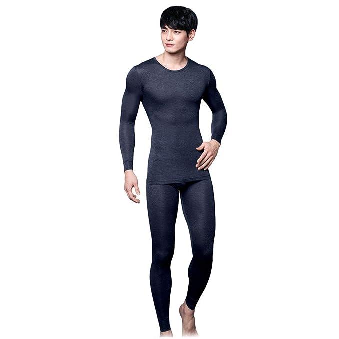 Amazon.com: BYC - Conjunto de ropa interior térmica suave ...