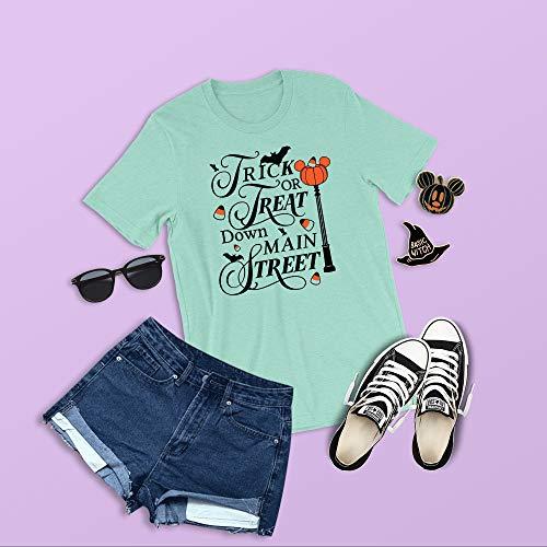 Trick or Treat Main Street Shirt, Disney Halloween Shirt, Boo To You, Mickey's Not So Scary Shirt, Halloween Candy, Disney Trick or ()