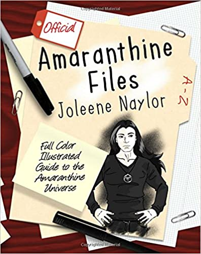 Book Amaranthine Files: Full color illustrated guide to the Amaranthine Universe