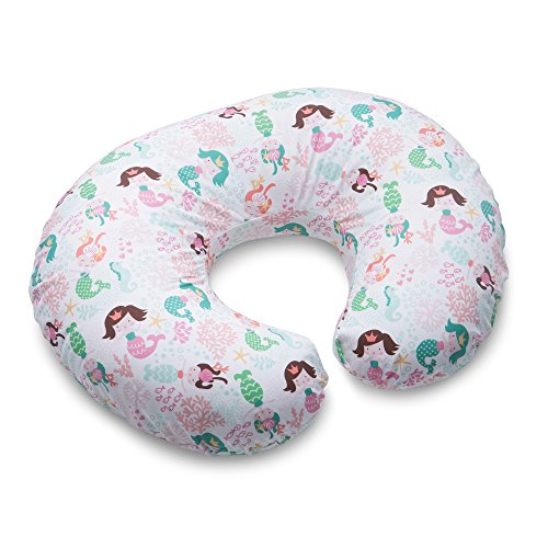 Boppy Pillow Slipcover, Classic Mermaids, Pink