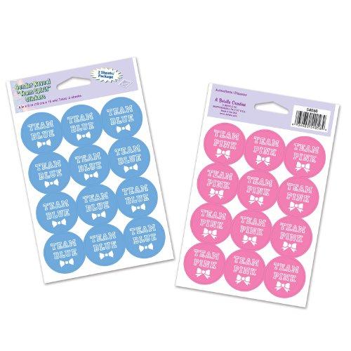 Beistle 54056 Sticker 6 Inch 3 Pack