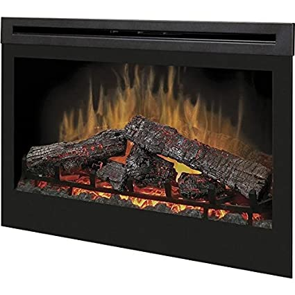 Amazon.com: Dimplex Linwood 65-inch Electric Fireplace - Rift Grey ...