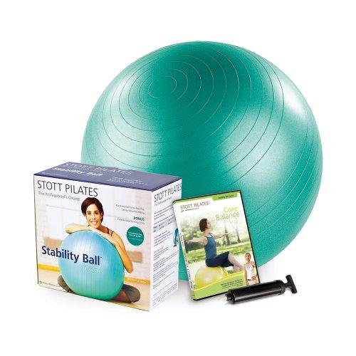 STOTT PILATES Stability Ball Plus Power Pack, 65cm (Green)