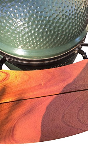 replacement shelves for big green egg mates hand crafted with african mahogany furniture. Black Bedroom Furniture Sets. Home Design Ideas