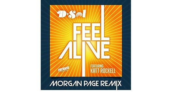 Feel Alive (feat  Katt Rockell) [Morgan Page Remix] by DJ D