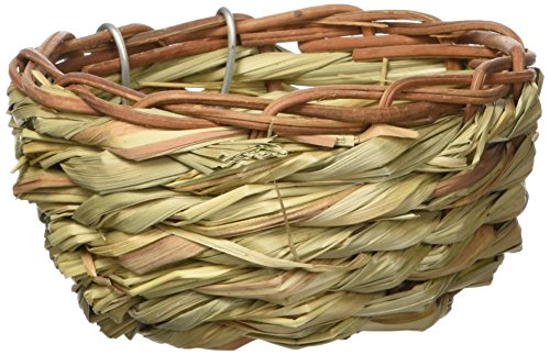 Prevue Pet Products BPV1153 Bamboo Canary Bird Twig Nest, 3-Inch