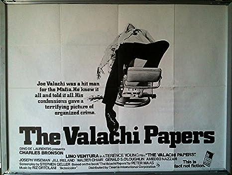 Cartel de cine: VALACHI papeles, la 1973 (quad) Charles ...