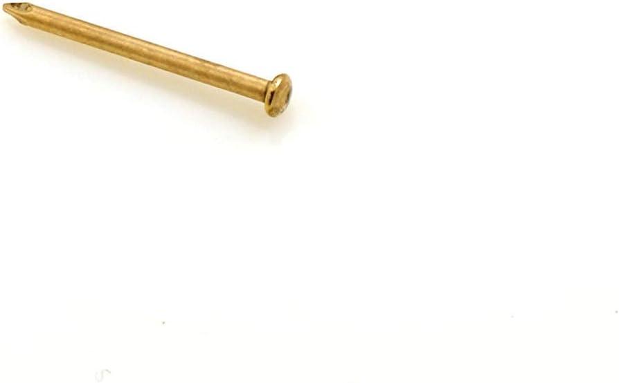 Design61/de cabeza redonda l/ápices bollones 2,5/x 50/mm Lat/ón Hierro 100/unidades