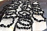 CHARGED Natural Black Obsidian Crystal Bracelet