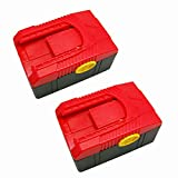 Powerwings 2x Pack Battery for Snap on Ctb6187 Ctb6185 Lithium Ion (Lg Cell) 18v 3.0ah 54wh