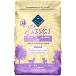 BLUE Basics Limited Ingredient Turkey & Potato Dry Puppy Food, 11lb