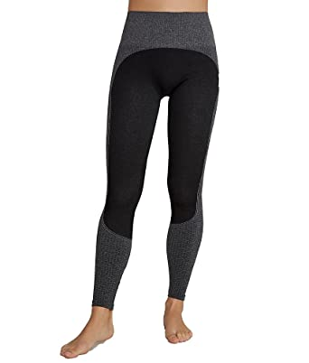 4b92ae03aa5cfb SPANX Women's Curved Lines Seamless Leggings, Very Black at Amazon Women's  Clothing store: