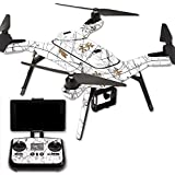 MightySkins Protective Vinyl Skin Decal for 3DR Solo Drone Quadcopter wrap cover sticker skins TrueTimberConceal Snow