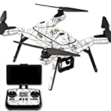 MightySkins Protective Vinyl Skin Decal for 3DR Solo Drone Quadcopter wrap Cover Sticker Skins TrueTimberConceal Snow Review