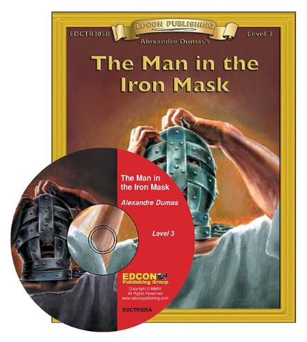 Man in the Iron Mask Read Along: Bring the Classics to Life Book and Audio CD Level 3 [With CD] by Edcon Publishing Group