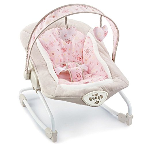 AIBAB Chair Bouncers Baby Rocking Chair Electric Intelligent Music Three-Speed Lifting Function Summer Can Be Convenient to Carry Sleepy Artifact