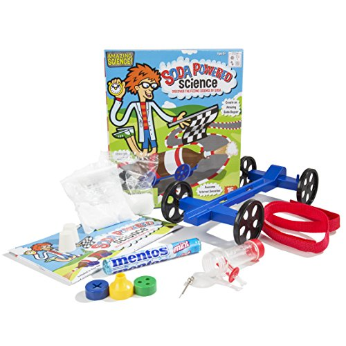 Be Amazing! Toys Soda Powered Science Kit (Kit Rocket Car Science)