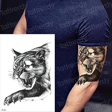 Handaxian 3 Piezas Mangas de Tatuaje Tigre Golondrina Tatuaje de ...
