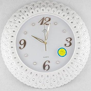 Y-Hui Mute Horloge Murale Horloge de Salon Baroque Table Table ...
