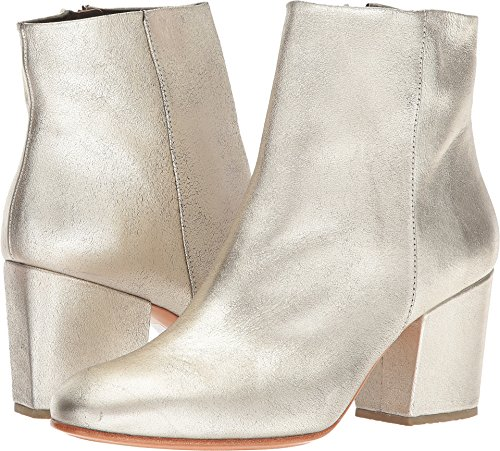 Rachel Comey Women's Fete White/Gold Distressed Leather for sale  Delivered anywhere in USA