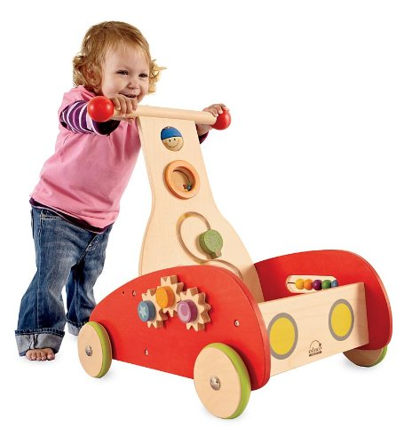Hape Wooden Wonder Walker with Setback Wheels by Hape