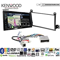 Volunteer Audio Kenwood Excelon DNX694S Double Din Radio Install Kit with GPS Navigation System Android Auto Apple CarPlay Fits 2003-2011 Town Car