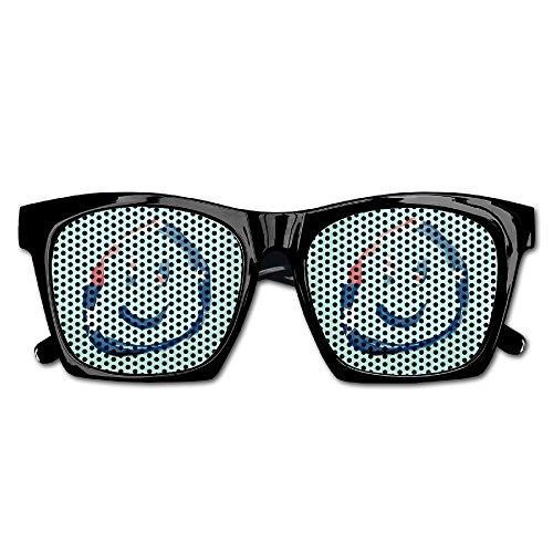 Xing Stars Colorful Summer Unisex Australia Flag Amile Face Fashion Party Costume - Nerd Glasses Australia