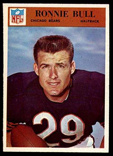 - 1966 Philadelphia #30 Ron Bull Bears NFL Football Card EX Excellent