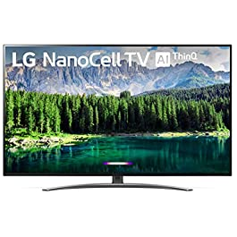 LG 65SM8600PUA Alexa Built-in Nano 8 Series 65″ 4K Ultra HD Smart LED NanoCell TV (2019)