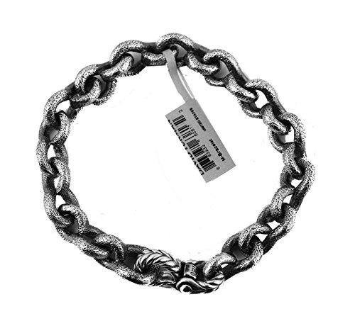 david-yurman-11-mm-petrvs-chain-solid-sterling-silver-bracelet-8-size-m-new-6b