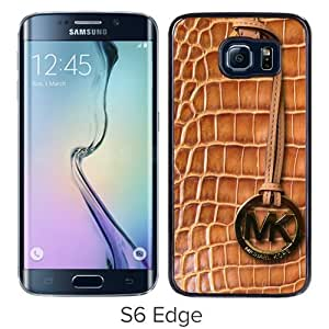 Fashion And Unique Samsung Galaxy S6 Edge Case Designed With Michael Kors 139 Black Samsung S6 Edge Cover