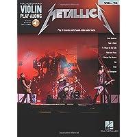 Metallica: Violin Play-Along Volume 70 Bk/Online Audio